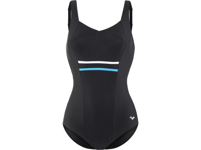 arena Jolie Wing Back Low C-Cup Swimsuit Women black